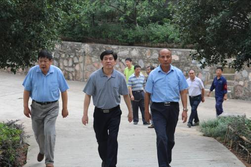 The Ministry of National Defense Safety Inspection Team visits Kailong